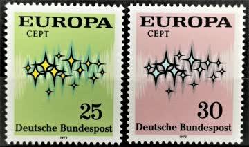 1975 Europa Sternenband postfrisch** MiNr: 716-717