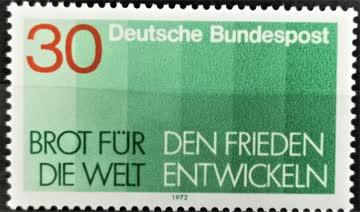 1972 Brot für die Welt postfrisch** MiNr: 751