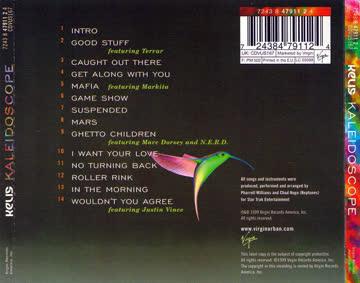 """cd: kelis """"kaleidoscope"""""""