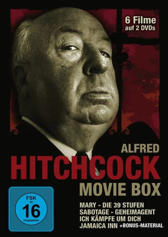 Alfred Hitchcock Movie Box
