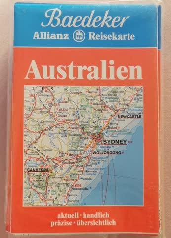 Australien Mit grosser Reisekarte