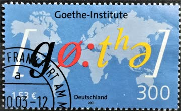 2001 Jahrestag Goethe Institut MiNr: 2181