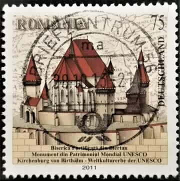 2011 Birthälmer Kirchenburg UNESO Welterbe MiNr: 2889