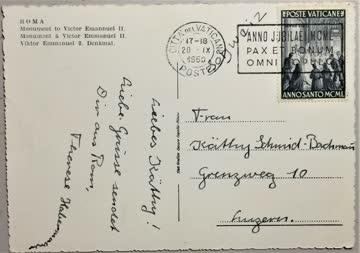 1950 Schweizergarde im Vatikan