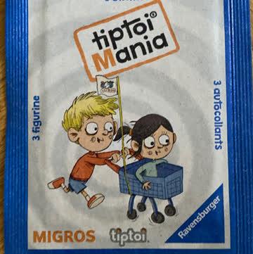 Migros Tiptoi Mania 3 Sticker nach Wunsch