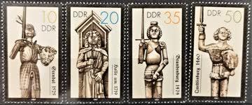 1987 DDR historische Denkmale postfrisch** MiNr: 3063-3066
