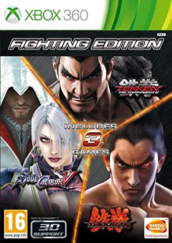 Fighting Edition (S. Calibur + Tekken6 +TTT2)