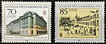 1989 DDR Leipziger Frühjahrsmesse postfrisch** MiNr: 3235-32