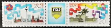 1989 DDR Pfingsttreffen der freien Jugend postfrisch** MiNr: