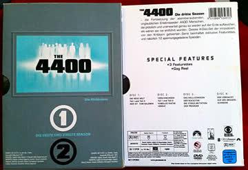 The 4400 - Die Rückkehrer Seasons 1,2,und 3