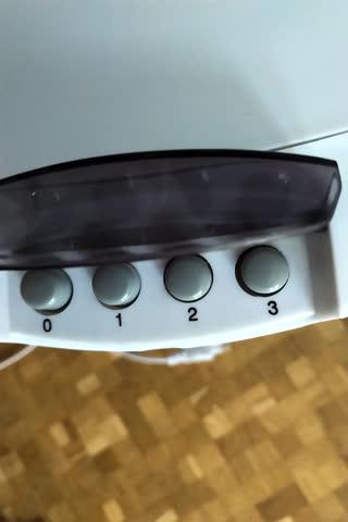 Ventilator fürs Nachttischchen