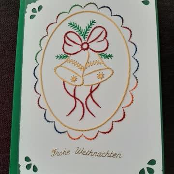 Weihnachtskarte grün
