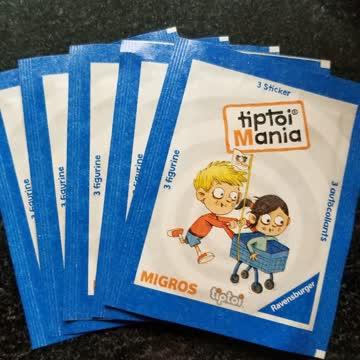 6 Migros tiptoi Mania Sticker