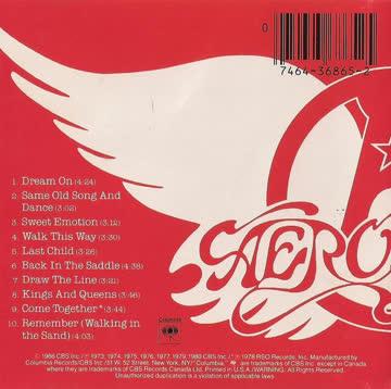 """cd: aerosmith """"greatest hits"""""""