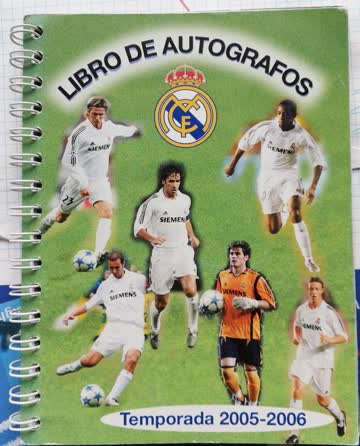Real Madrid Spieleralbum Saison 2005/2006