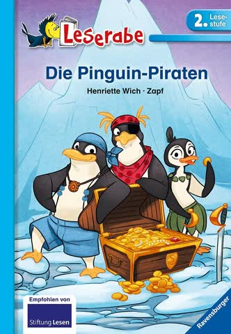 Leserabe - Die Pinguin-Piraten