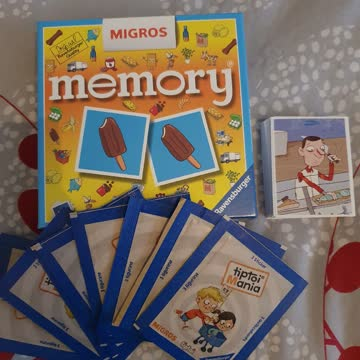 Migros TipToi und Memory