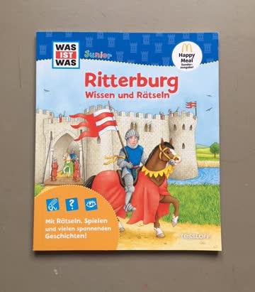 Was ist was Junior Ritterburg Wissen und Rätseln, neu