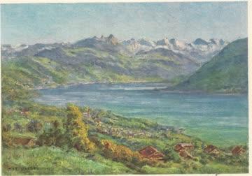 Alte (1945) Postkarten von Oberägeri