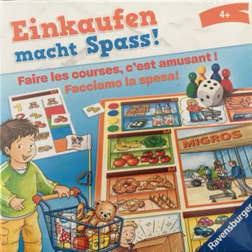 """Migros Tiptoi Spiel """"Einkaufen macht Spass"""""""