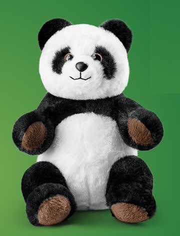 "Coop Abenteuer Wildnis Stofftier ""Mela, der Panda"""