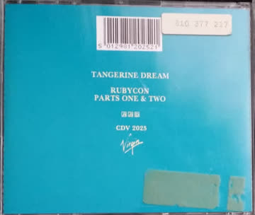 Tangerine Dream - Rubicon