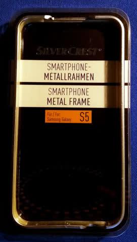 Samsung Galaxy S5 - Metallrahmen