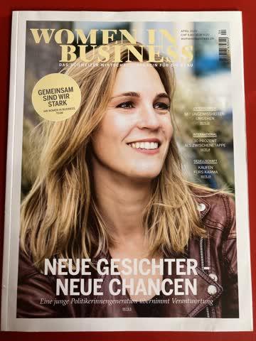 Women in Business - Wirtschaftsmag. für Frauen April 2020