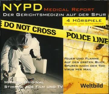 NYPD Medical Report - Der Gerichtsmedizin auf der Spur - 4 Hörspiele