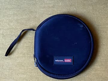Stoff Hülle - Tasche für 12 CDs