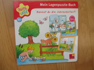 Kennst du die Jahreszeiten? Mein Lagenpuzzle-Buch