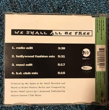 The Weather Girls - We Shall All Be Free (Elektro)