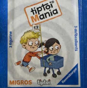 3 MigrosTiptoi Mania 3 Sticker nach Wahl