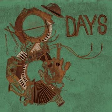 CD Titel: 8 days by Marc Amacher (CD published 27.04.2018)