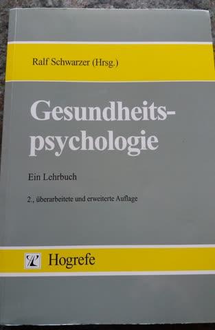 Gesundheitspsychologie - Ein Lehrbuch