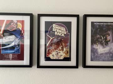 Star Wars original Posters: Episode IV bis VI