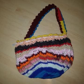 Gestrickte Tasche