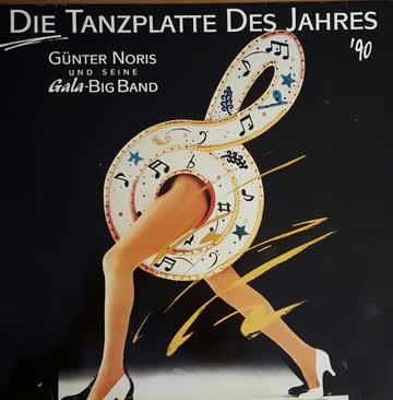 Günter Noris und seine Gala- Big Band - Die Tanzplatte des Jahres `90