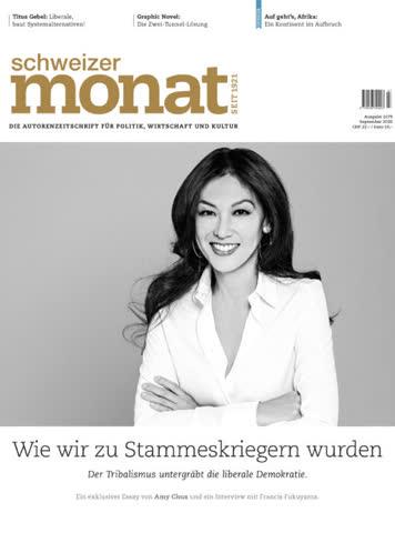 Schweizer Monat Ausgabe 1079, September 2020