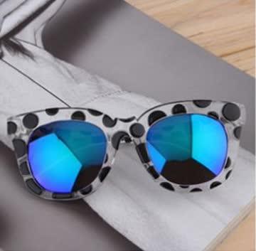 NEUE Sonnenbrille Polka dots