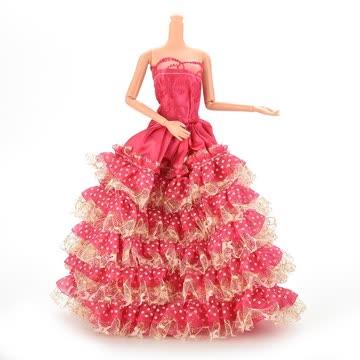 NEUES Barbie Ballkleid pink