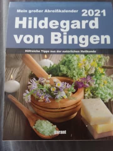 Hildegard von Bingen Abreisskalender 2021