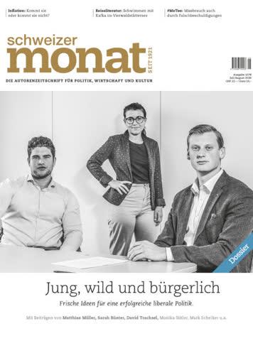 Schweizer Monat, Ausgabe Juli 2020
