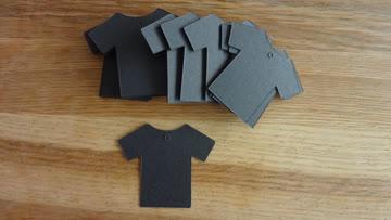 50 Stk. NEUE Label für Warenauszeichnung schwarz