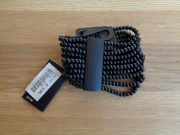 NEUES Armband schwarz elastisch
