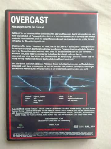 Overcast chemtrails