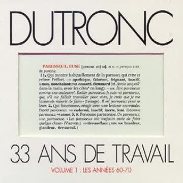 Jacques - 33 Ans de Travail - Volume 1 - Les Années 60-70