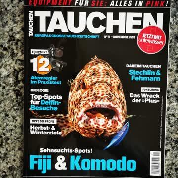TAUCHEN - Europas grosse Tauchzeitschrift