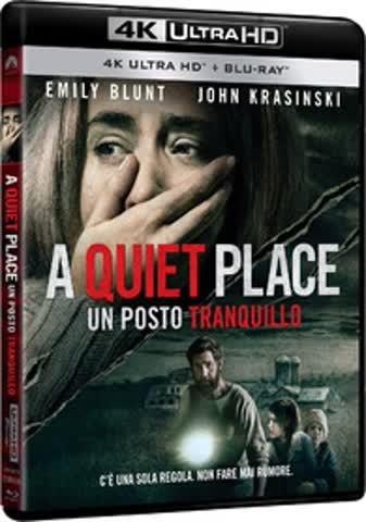 A Quiet Place [4K Ultra HD + Blu-ray] (IT-Import)