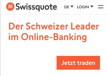 Swissquote 100 CHF Trading Credits